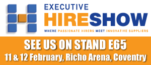 See us on stand E65 at the Executive hire show 2015