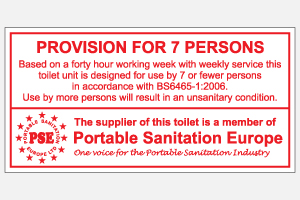 Provision for 7 persons